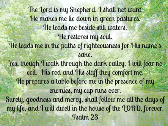 Psalm 23 | A Satisfied Spirit