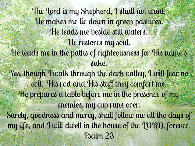Psalm 23 | A Satisfied Spirit