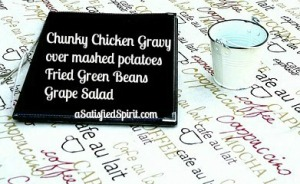 Chunky Chicken Gravy