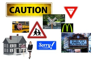 Sign Collage