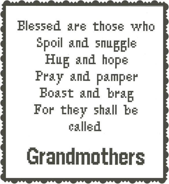 Blessed are those...grandmothers